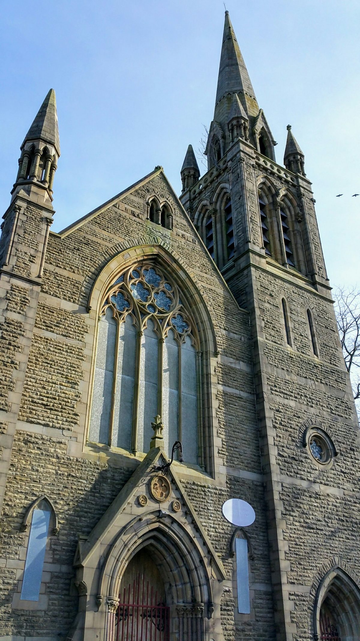 Cannon Street Baptist Church & School, Accrington – George Baines, architect