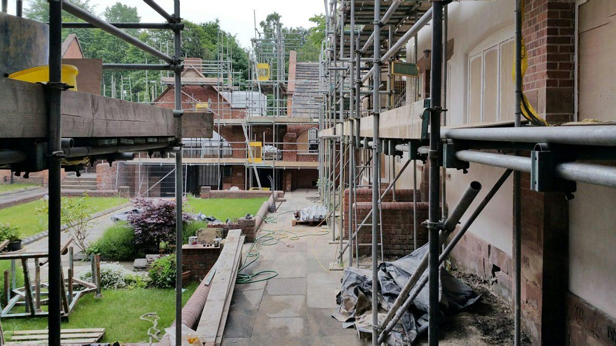 Restoring Long Street Methodist Sunday School, Middleton, Manchester
