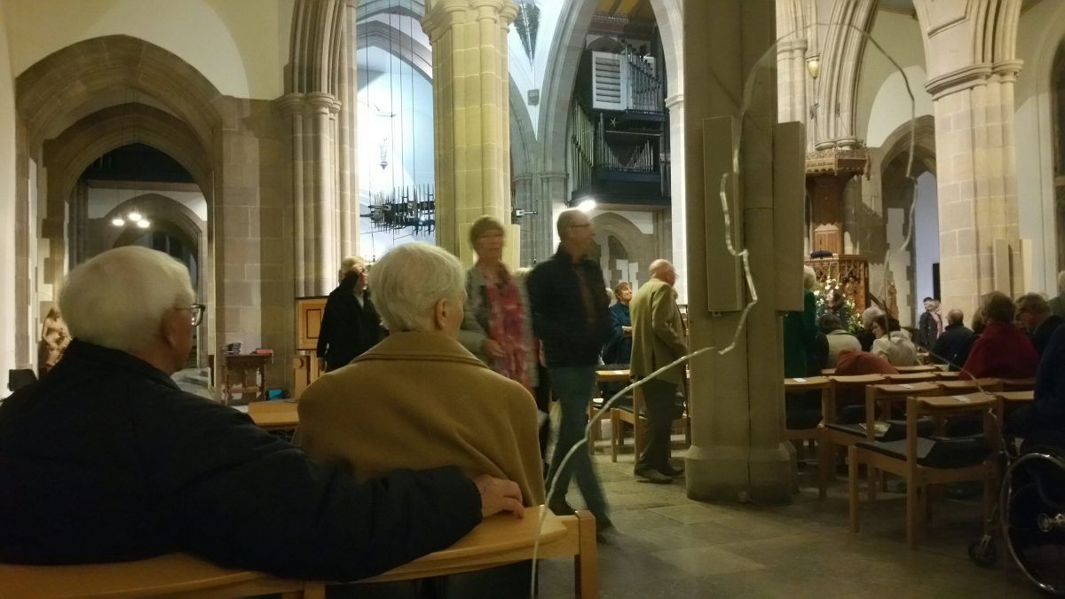 There But Not There – Blackburn Cathedral