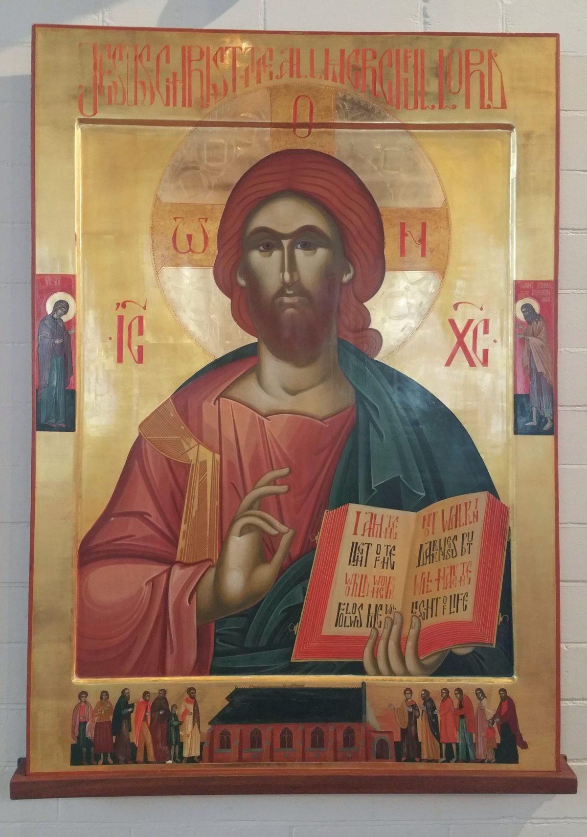 Icon, All Saints Church, Birmingham