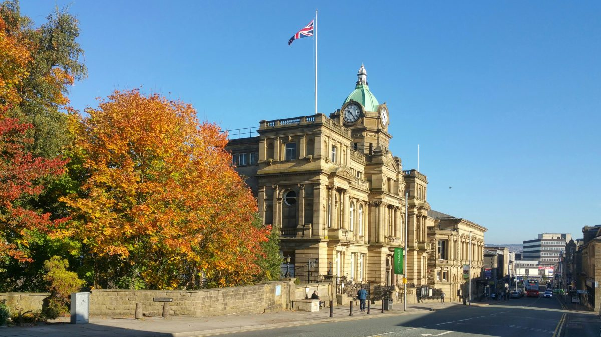 Burnley Town Hall and Mechanics Institute, Lancashire