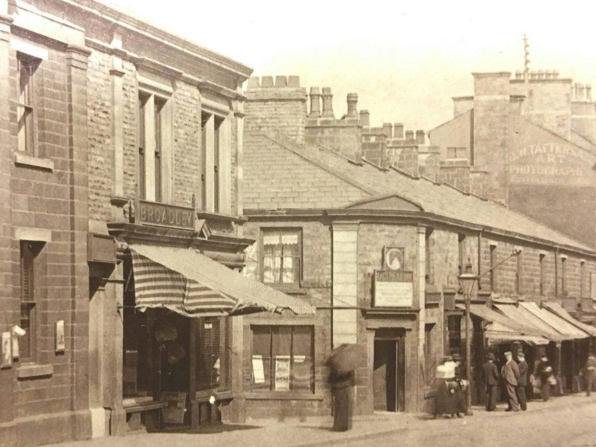 Accrington THI – first shop restoration on site