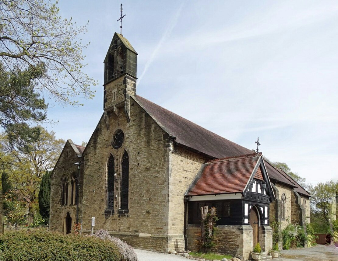St. Martin's Church, Low Marple, Cheshire is open for Heritage Open Days