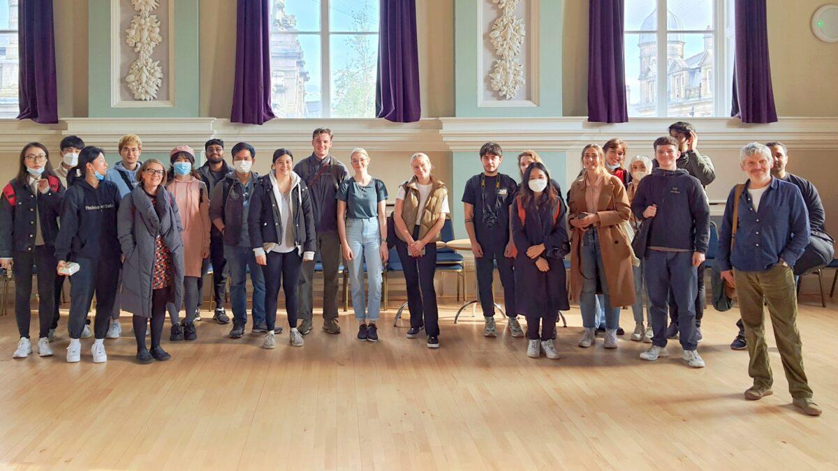 Architecture Students visit Accrington